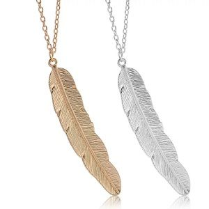 Jewelry - Sterling Silver Feather Necklace